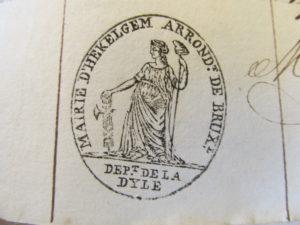 stempel gemeente Hekelgem